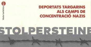 Visita comentada per les llambordes Stolpersteine de Tàrrega