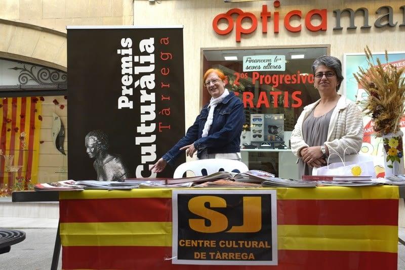 El Centre Cultural de Tàrrega i la Diada de Sant Jordi