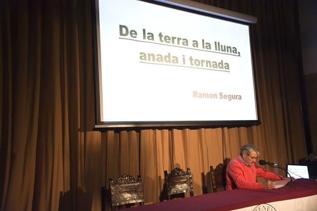 La Conferència del Sr. Ramon Segura