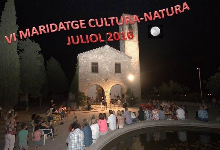 6è maridatge Cultura-Natura, Juliol 2016