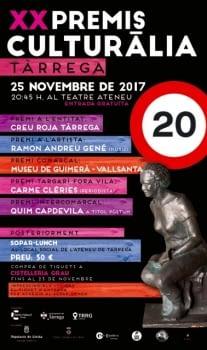 Guardonats als XX Premis Culturàlia 2017