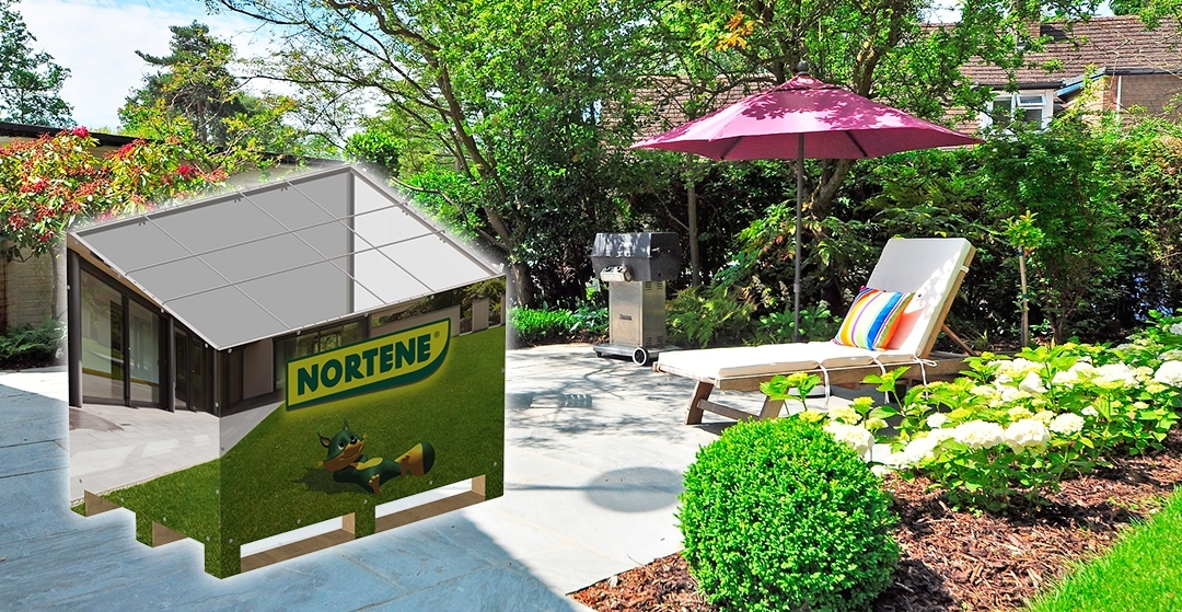 Display stand for Nortene. Intermas company.