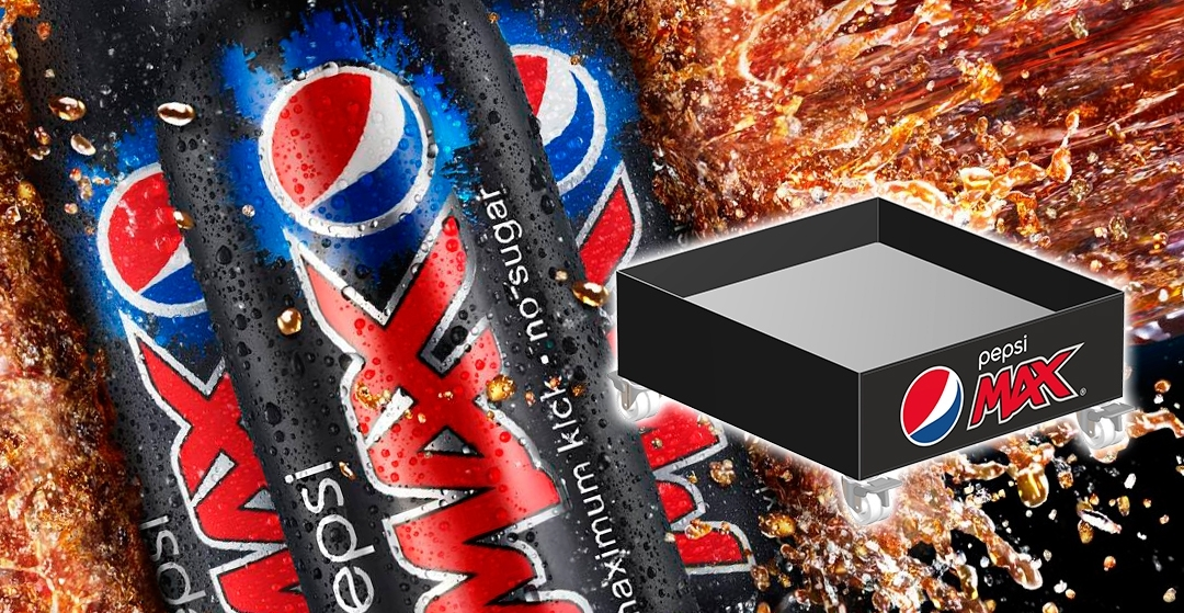Plataforma Cooler para Pepsi