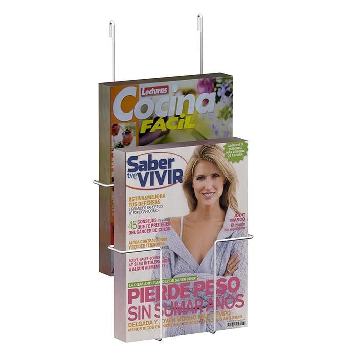 Expositor colgante revistas