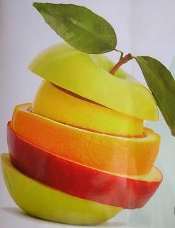 Cuidado con la fruta muy ácida.