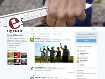 Engrunes ja està a Twitter