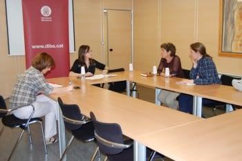 La Fundació Engrunes es reuneix amb la Sra. Angels Nogué