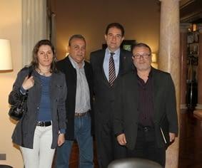Engrunes es reuneix amb el President de la Diputació de Barcelona