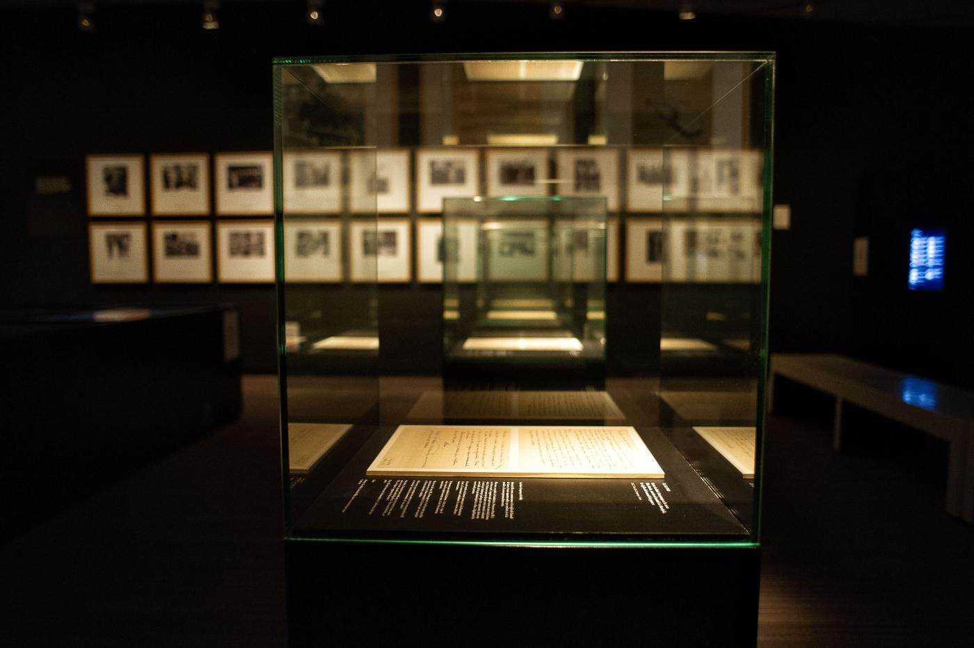 Exposició permanent vitrines