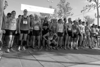 """Fotografia guanyadora de l'edició del 2012 del concurs """"Fes la foto, corre!""""."""