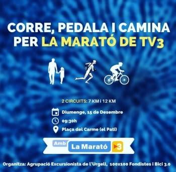 100X100 AMB LA MARATÓ DE TV3!!!