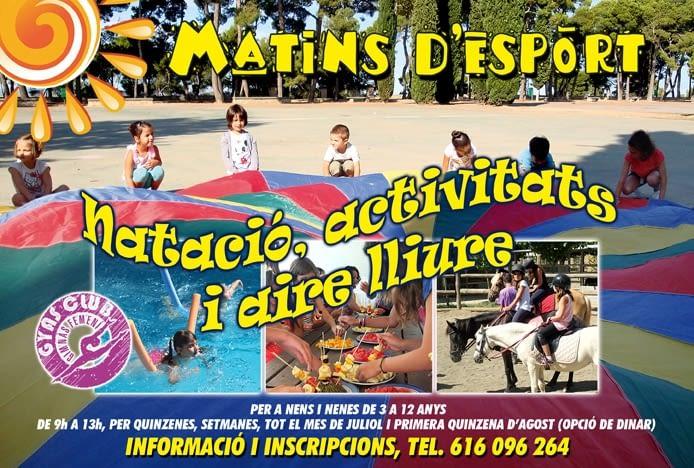 MATINS D'ESPORT