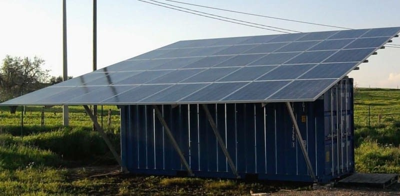Photovoltaic Solar Plant Container Remote areas