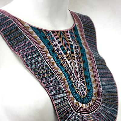 Cuello Etnico Multicolor