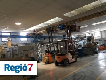 The company Jogaplast enters a program of growth of the Diputación