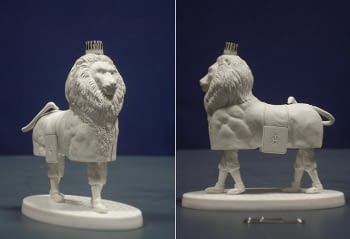 Figurines to cast in metal