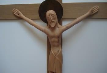 Rèplica d'un Crist de Leandre Cristòfol
