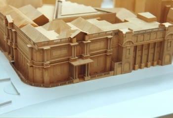 Ampliació d'un museu (fusta)