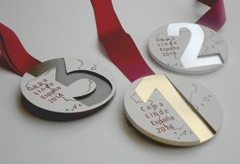 Guardons i medalles Copa Linde España