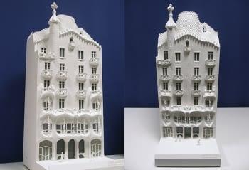 Casa Batlló model