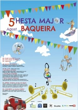 Dia 5 d'agost, Festa Major de Baqueira