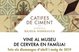 Veniu al Museu en família els diumenges d'abril i maig!
