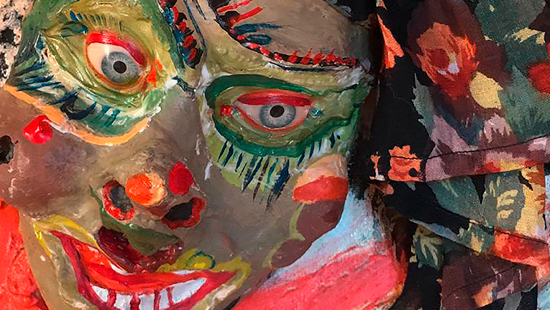MARIONA MILLÀ exposició de pintures de bruixes, diables i altres espècies