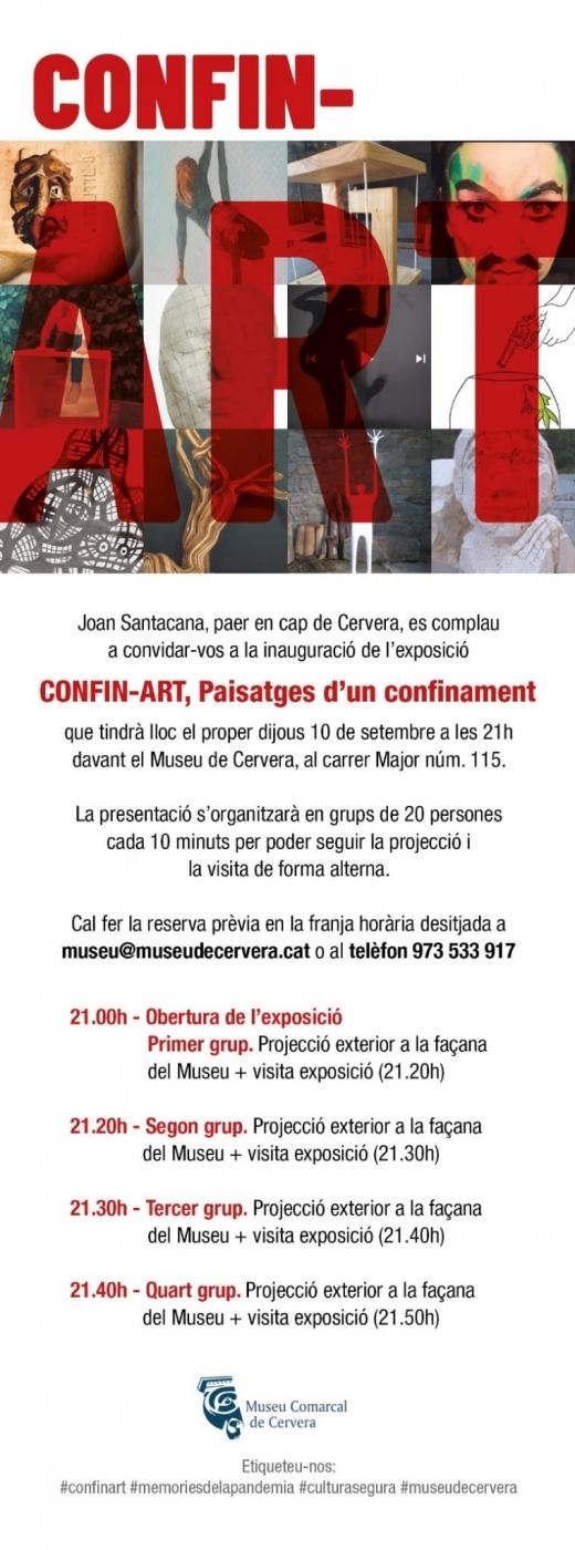 Inauguració exposició CONFIN-ART