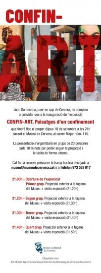 CONFIN-ART. Inauguració exposició