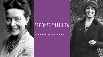 Simone de Beauvoir i Hermínia Grau i Aymà
