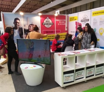 Participem a la 13a edició de la Fira de Formació i Treball de Lleida