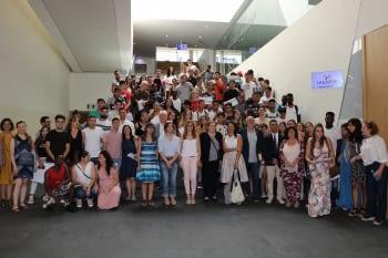 Lliurament de diplomes als joves del Programa Noves Oportunitats Lleida, entre ells un centenar de menors estrangers no acompanyats (MENAS)