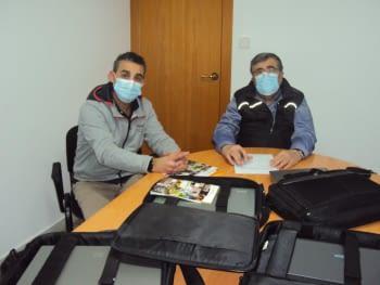 La Fundació Banc de Recursos de Lleida fa una donació de 4 portàtils a Noves Oportunitats Lleida