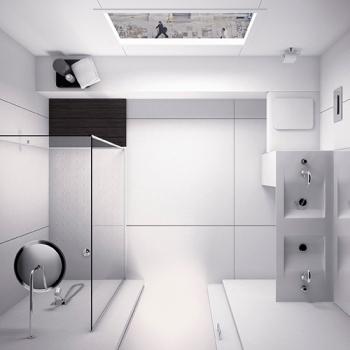 Render arquitectónico - interiores