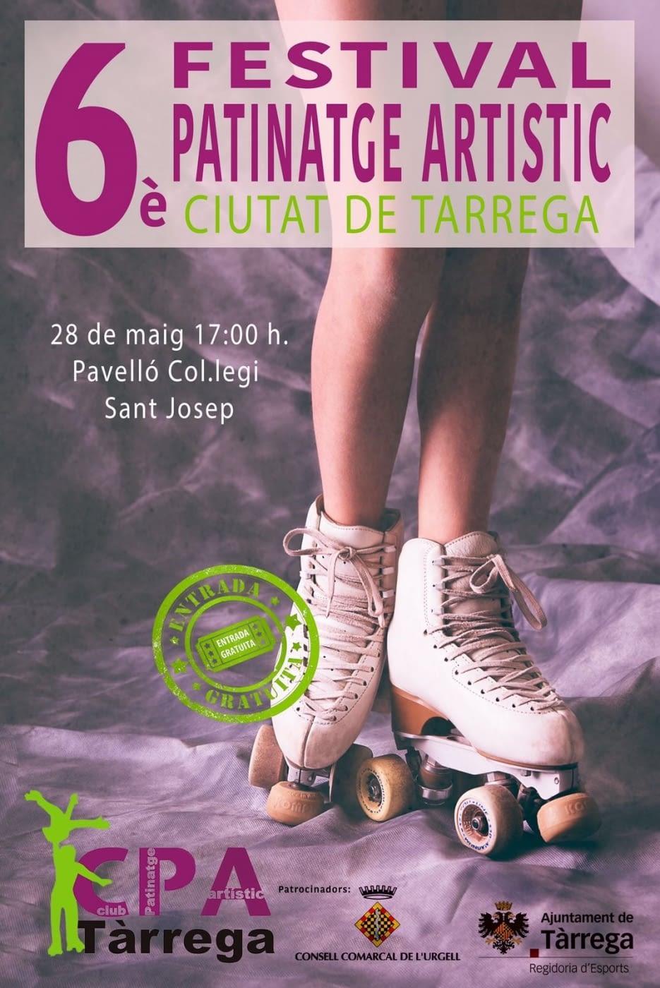 6è FESTIVAL DE PATINATGE ARTÍSTIC CIUTAT DE TÀRREGA