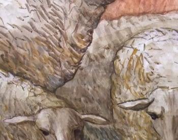 6 - Pintar sobre mortero húmedo