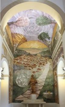Sagrat Cor Chappel. Solivella (Conca de Barberà), 2019