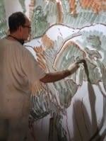 pintura mural al fresco