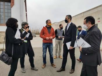Ponent Coopera es reuneix amb el conseller d'Exteriors, Bernat Solé, en la seva visita a Tàrrega