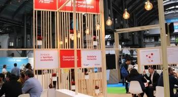 Ponent Coopera participa al BIZBarcelona a l'estand de l'economia social