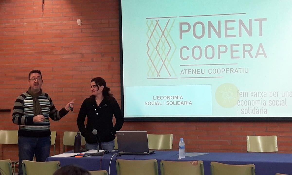 Nova col·laboració amb l'INS Torre Vicens per apropar l'economia social i el món cooperatiu a l'alumnat