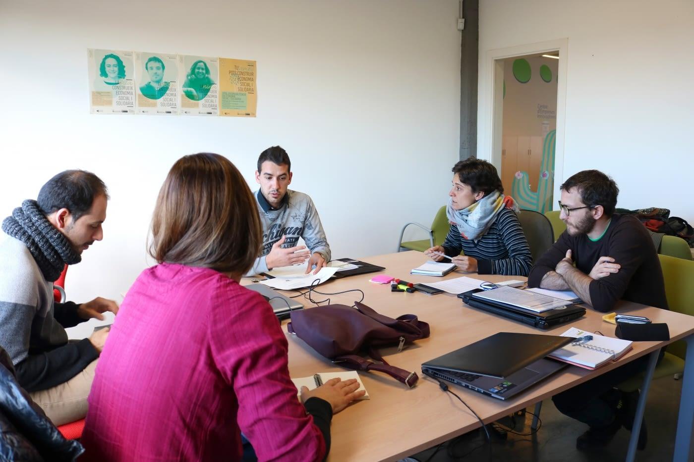 Ens reunim amb l'Associació Leader de Ponent per treballar en un projecte conjunt