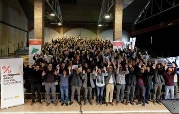 """Ponent Coopera participa en la jornada """"Construïm conjuntament el futur de l'economia social i solidària"""" per abordar el present i el futur del sector"""