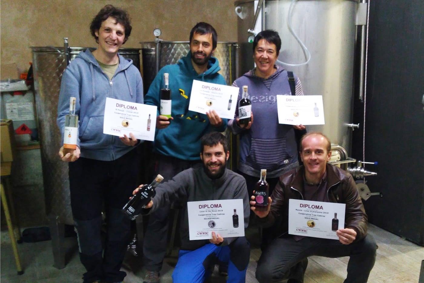 L'Obrador Compartit de Ponent (Arbeca) obté medalla al Catavinium World Wine & Spirits Competition per als cinc licors que s'hi produeixen