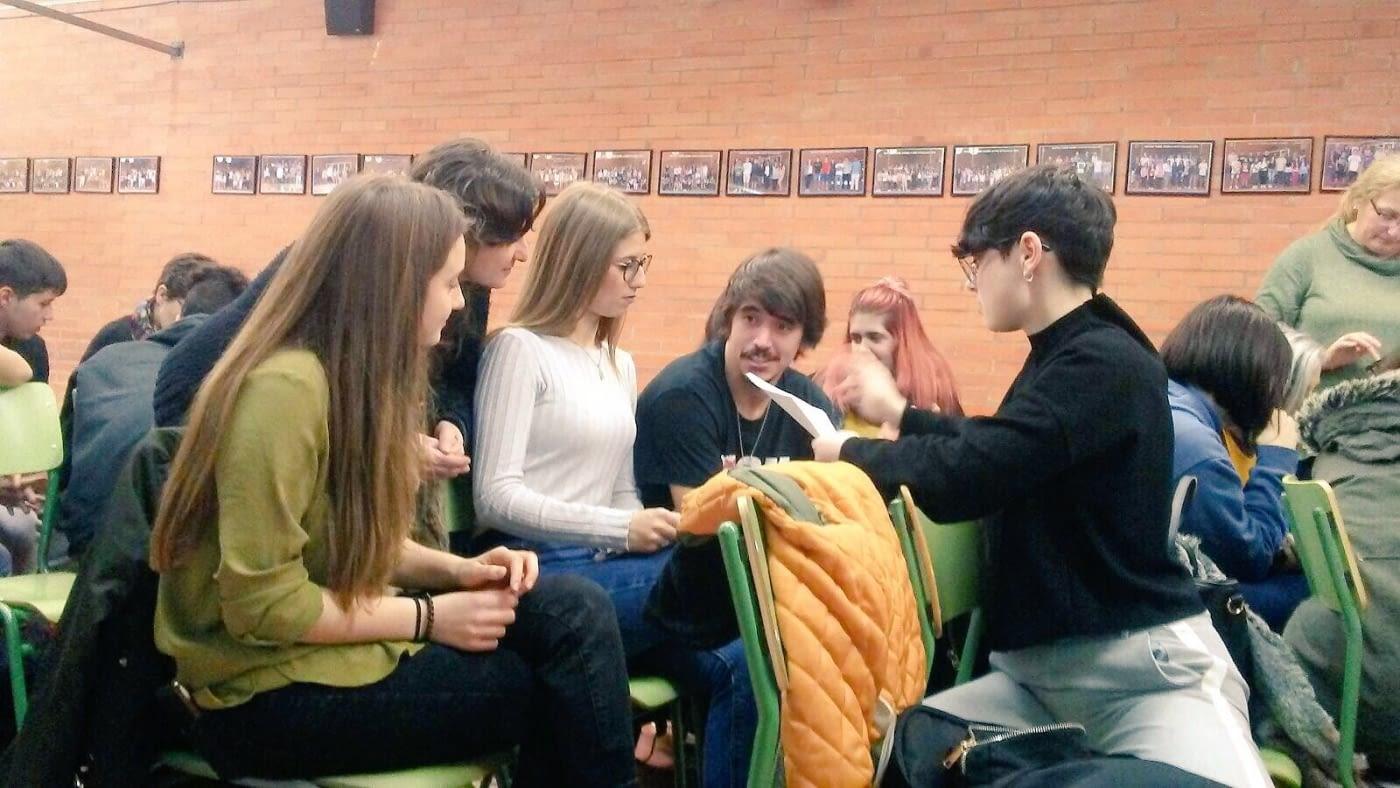 Segona formació sobre Economia Social i Solidària als alumnes del IES Torre Vicens