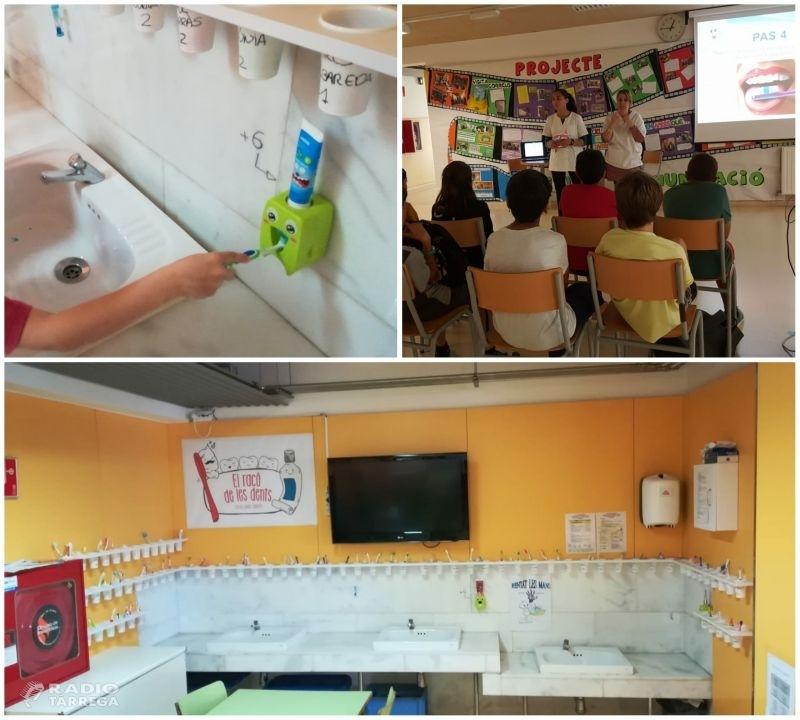 Dues higienistes bucodentals de Tàrrega converteixen en projecte d'èxit adaptat al món educatiu el seu treball final de Grau Superior
