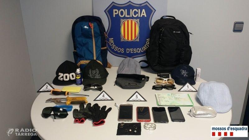 Ingressen a la presó dos homes per dos robatoris amb força en domicilis de l'Urgell i la Noguera
