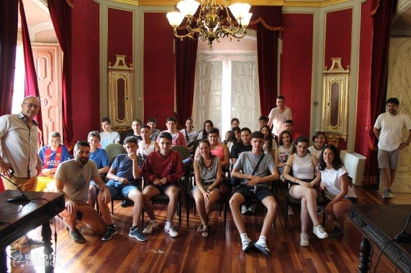 S'inicia el camp de treball a Cervera amb 24 joves de tot l'Estat