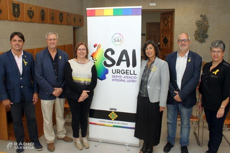 L'Ajuntament de Tàrrega i el Consell Comarcal de l'Urgell oferirà un Servei d'Atenció Integral per a garantir la igualtat de drets del col·lectiu LGTBI