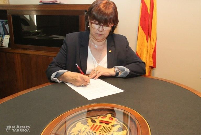 El PDeCAT proposa Rosa Maria Perelló per presidir la Diputació de Lleida